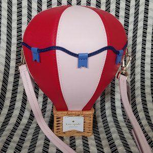Kate Spade Up Up Away Hot Air Balloon Pink Red